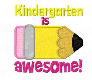 kindergarten is awesome