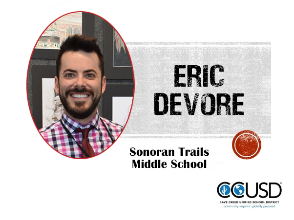 Eric DeVore, 2019 Teacher of the Year