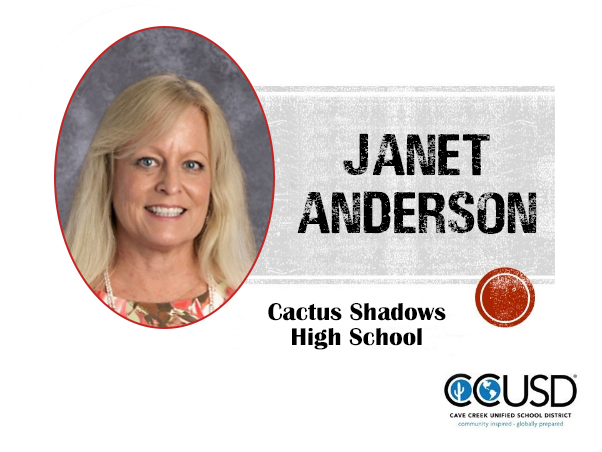 Janet Anderson, Cactus Shadows High School