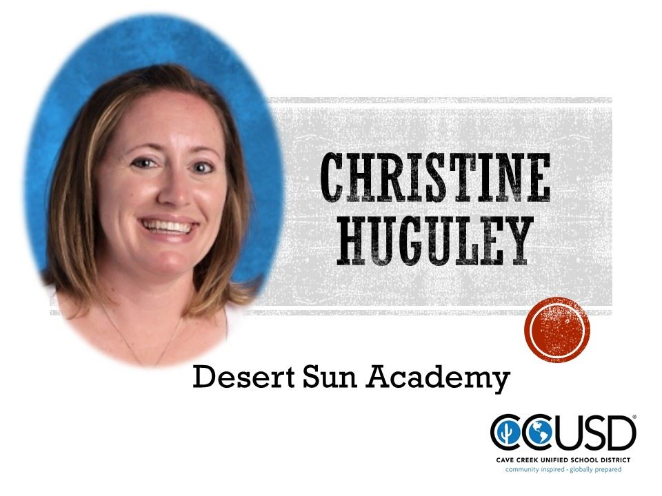 Christine Huguley, 2018 Teacher of the Year