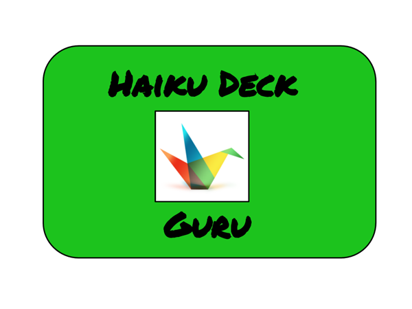 Haiku Deck Badge