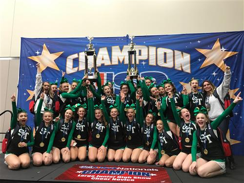 2019 Jr. High Show Cheer National Champions & Grand Champions