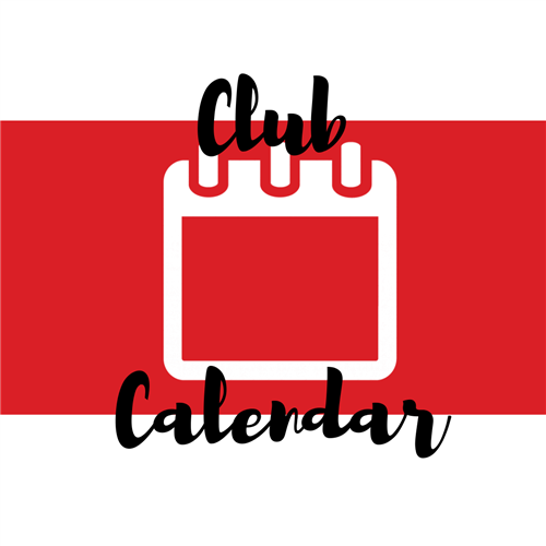 Club Calendar Graphic