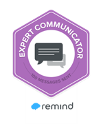 Remind Expert Communicator Badge