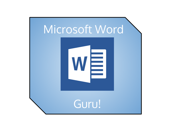 Microsoft Word Badge